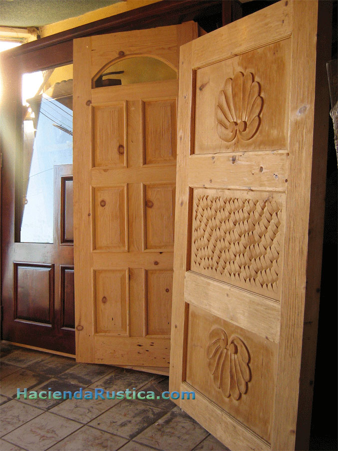 Mexican Door Manufacturer Hacienda Doors In Solid Wood